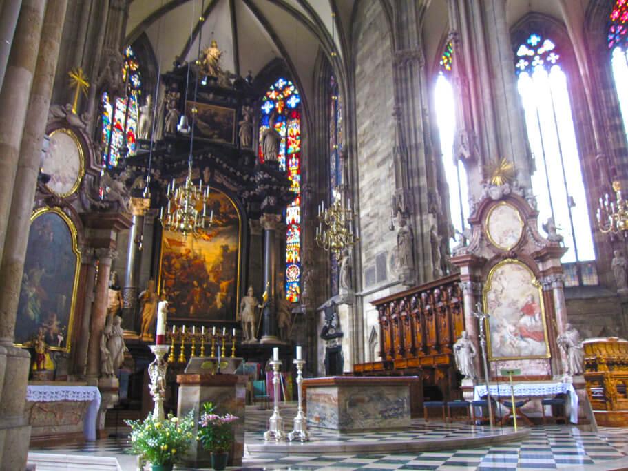 シュテファン大聖堂の祭壇