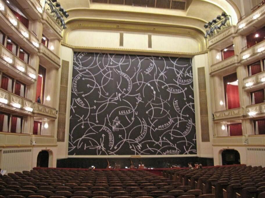 ウィーン国立歌劇場(国立オペラ座)の立ち見席