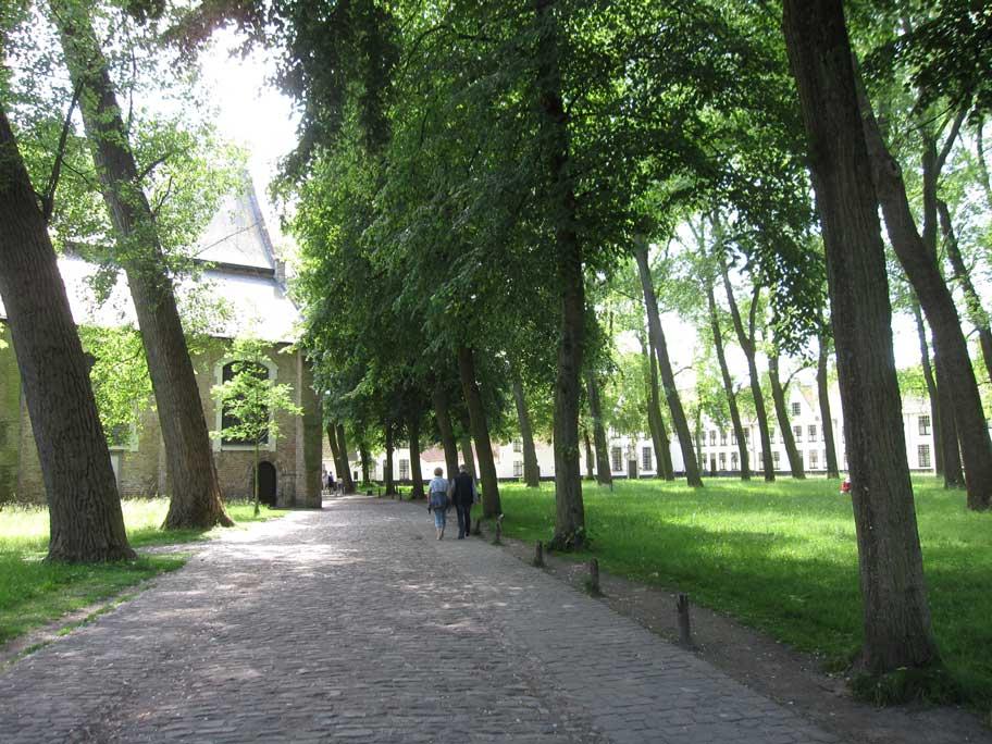 ブルージュ,ベギン会修道院
