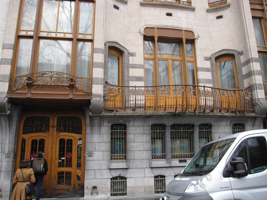 ブリュッセル,建築家ヴィクトル・オルタの主な都市邸宅群,ソルヴェー邸