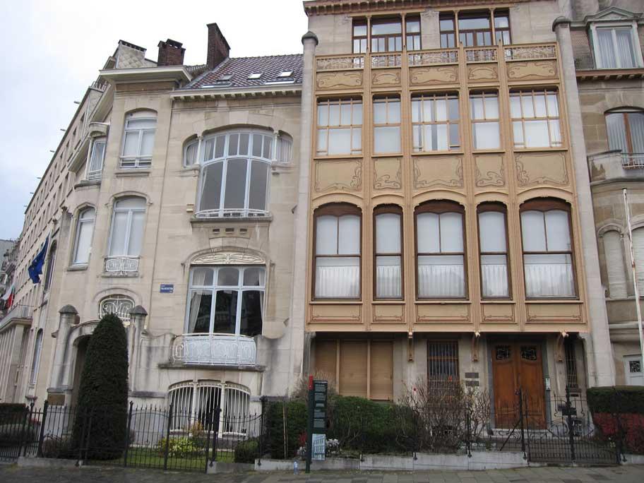 ブリュッセル,建築家ヴィクトル・オルタの主な都市邸宅群,ヴァン・エドバルド邸