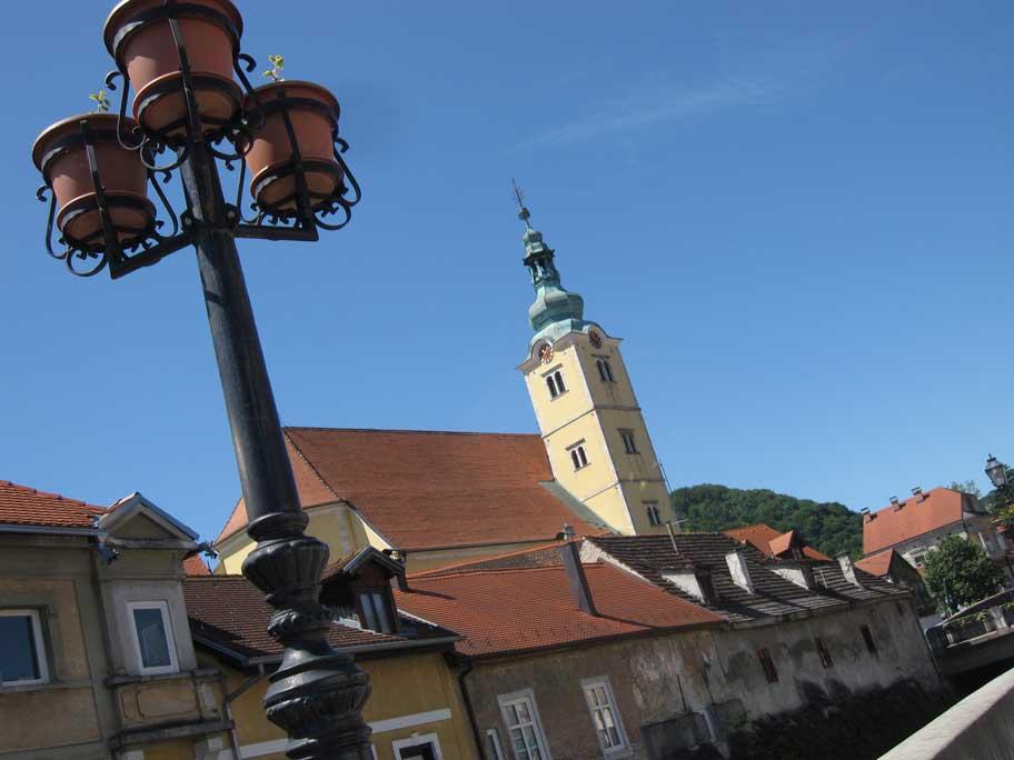 クロアチア,サモボルにある聖アナスタジア教会