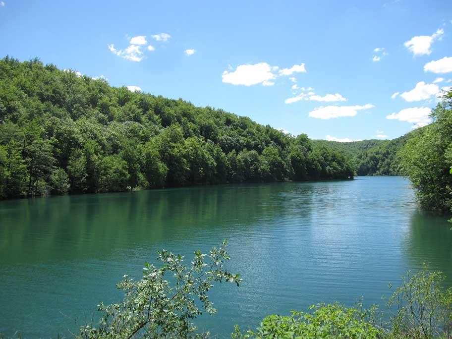 プリトヴィツェ湖群国立公園,川