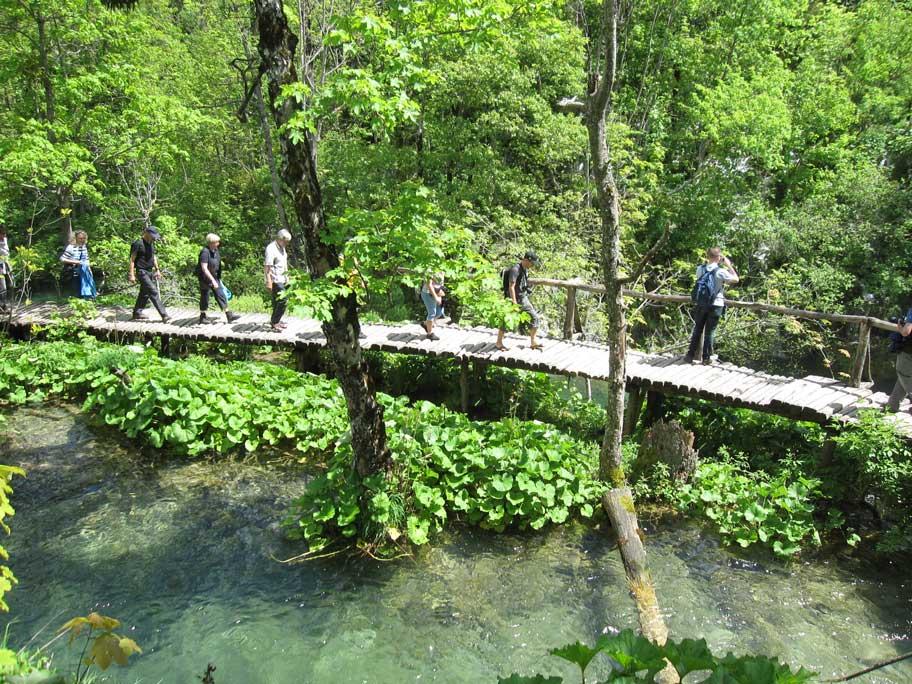 プリトヴィツェ湖群国立公園,観光客