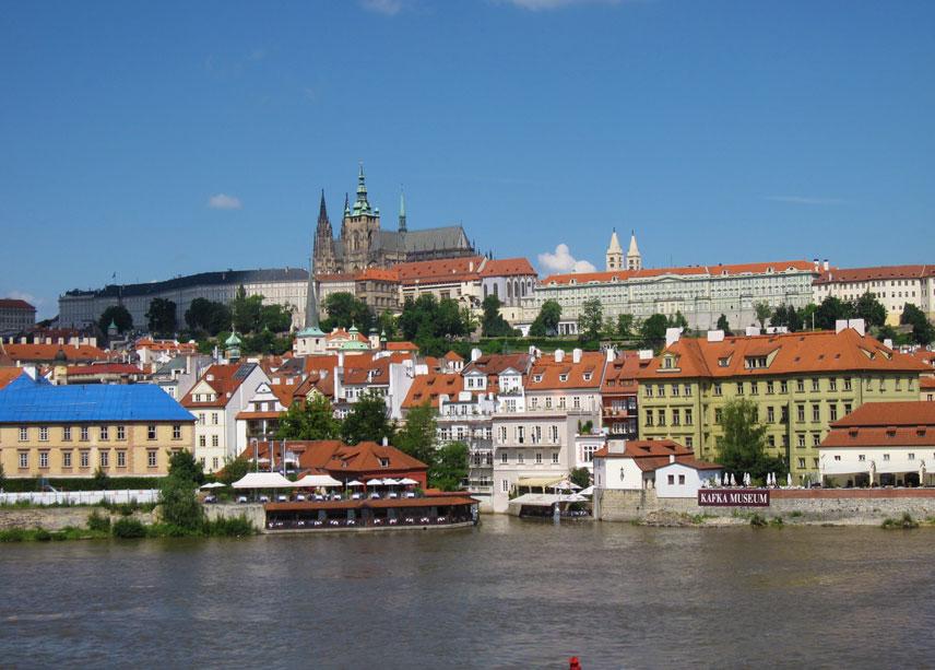 プラハ城,ヴルタヴァ川