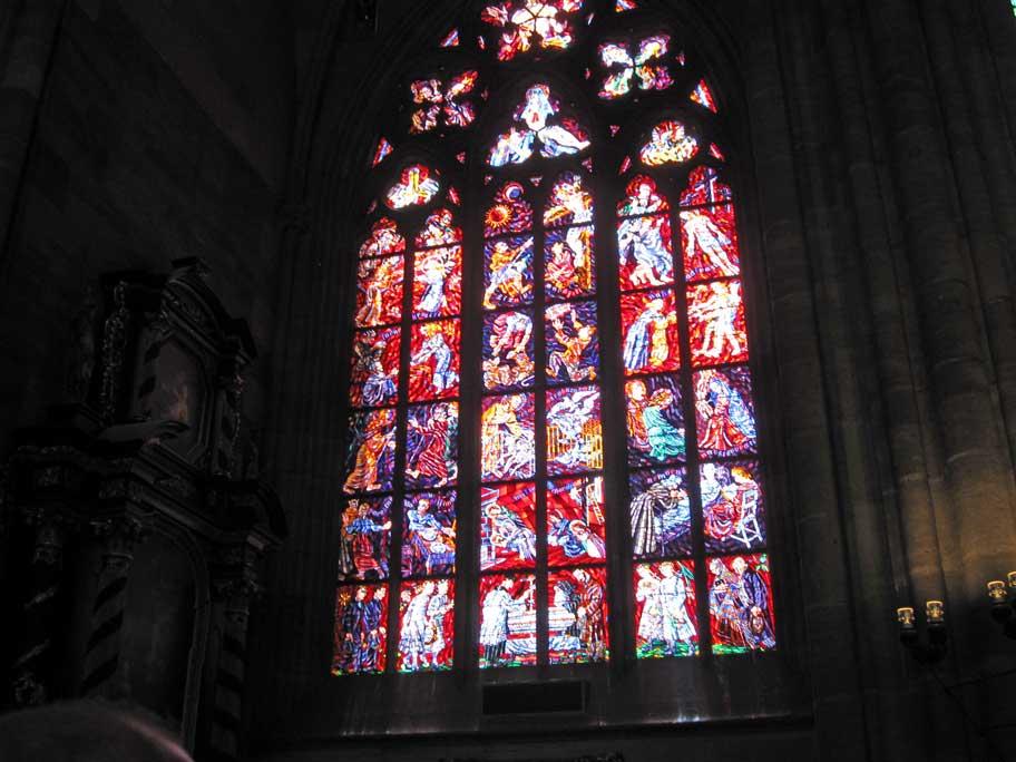 聖ヴィート大聖堂,ステンドグラス
