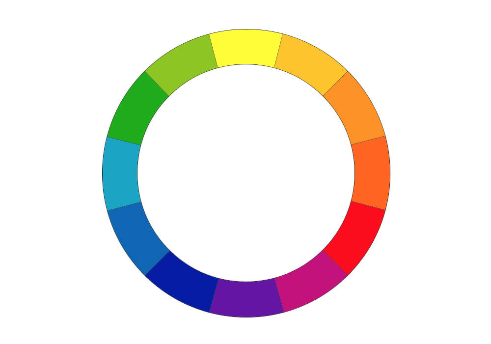 カラー・ホイールの12色