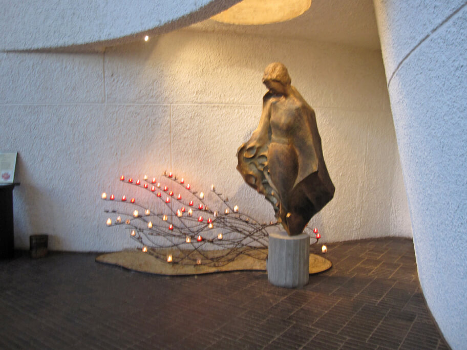 ジャンヌ・ダルクの像
