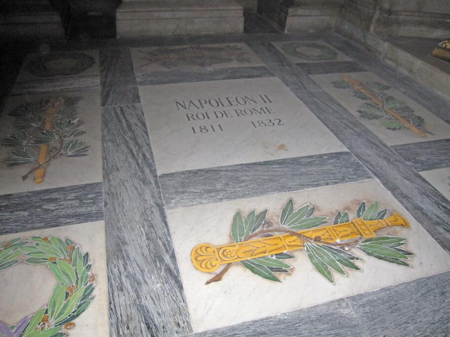 ドーム教会にあるナポレオンの墓