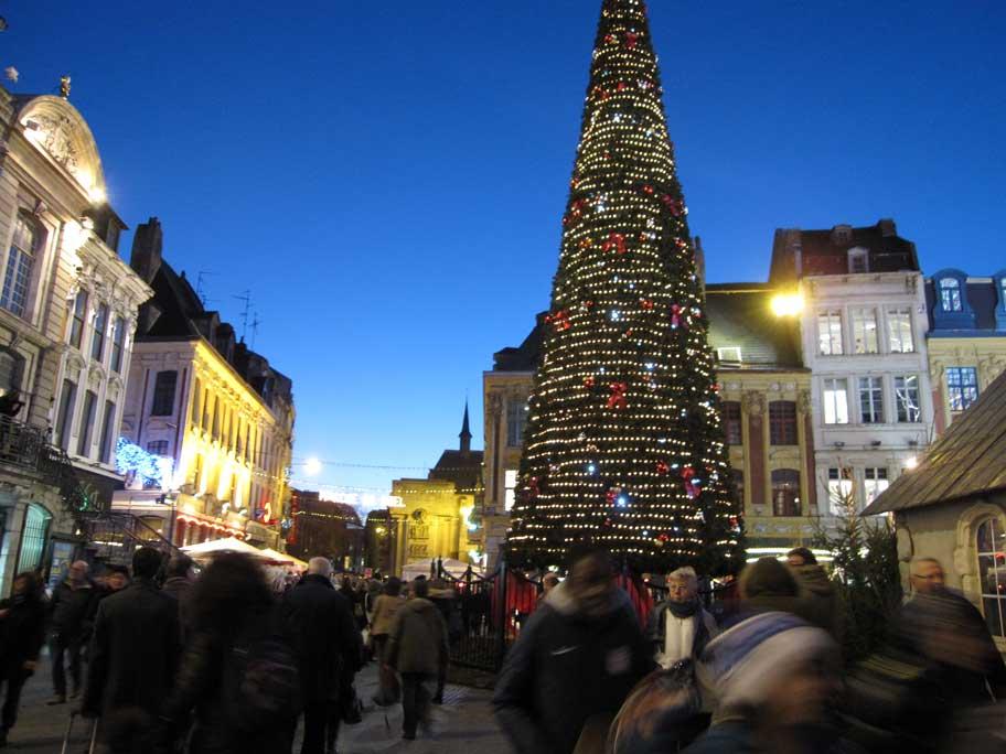 リール,クリスマスツリー