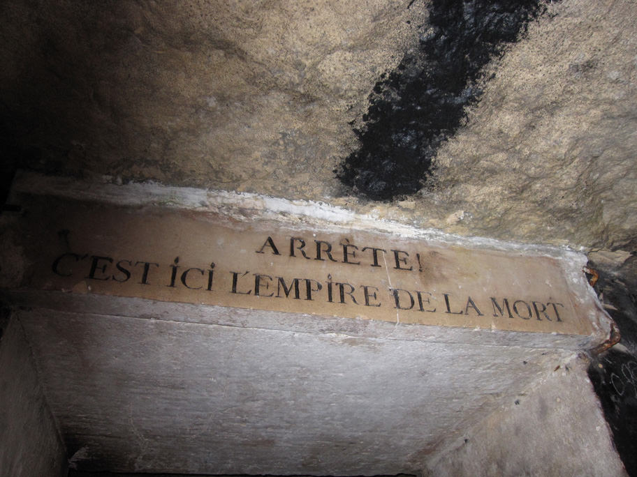 カタコンブ・ド・パリの入り口
