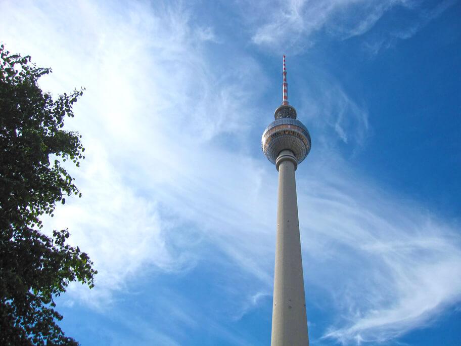アレクサンダー広場にあるテレビ塔