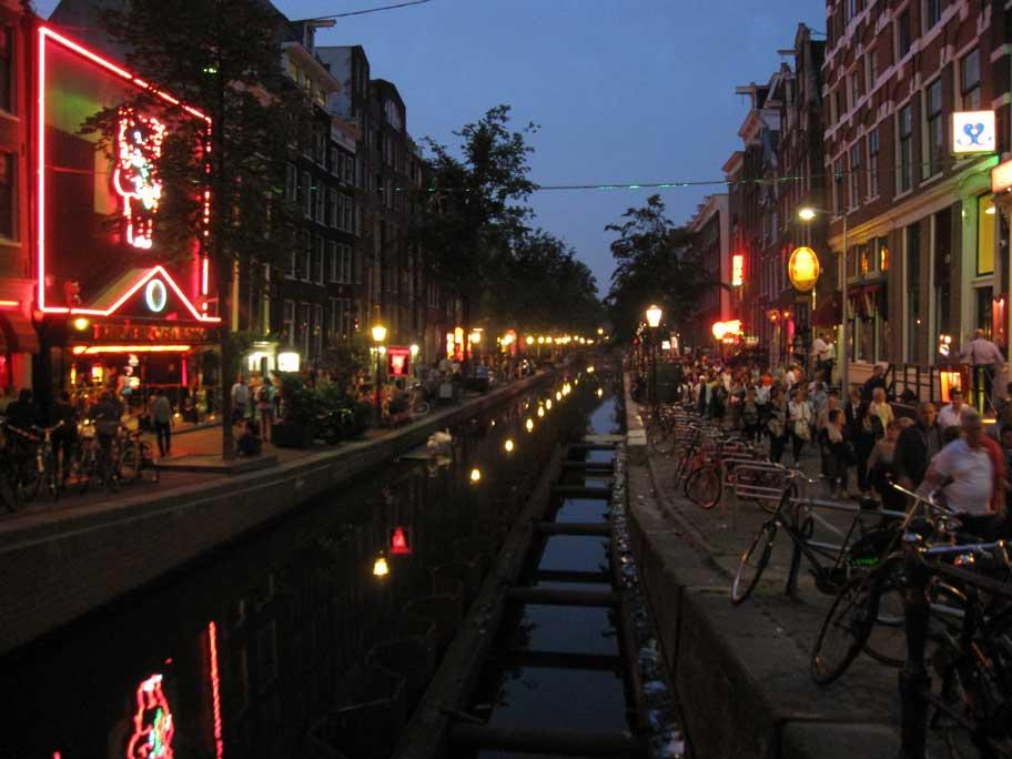アムステルダム,飾り窓