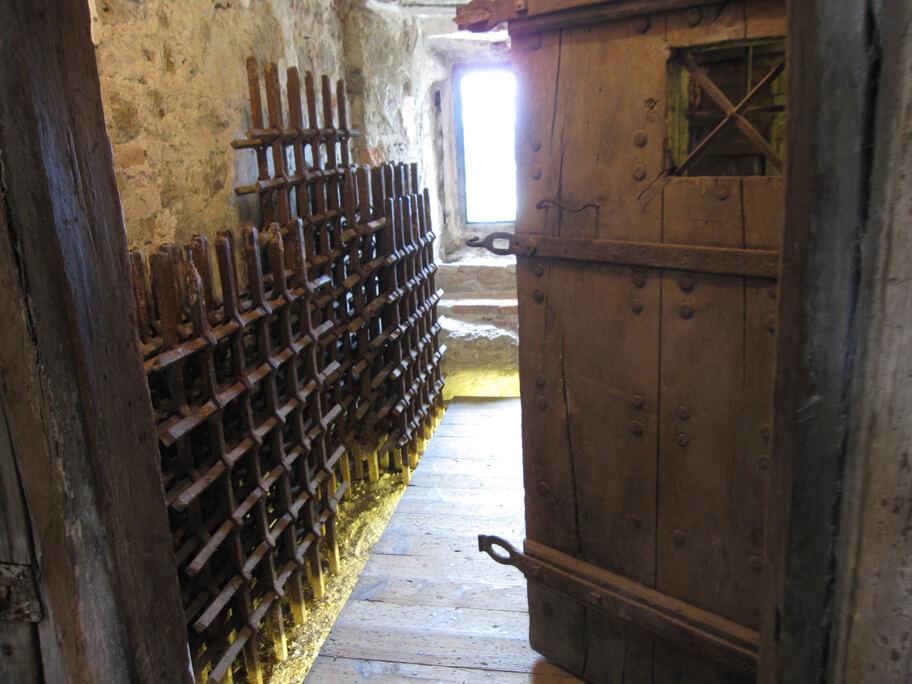 刑務所として利用されていたこともあるリュブリャナ城