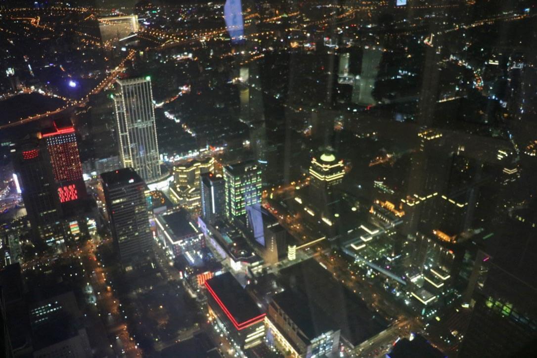 台北101の展望台