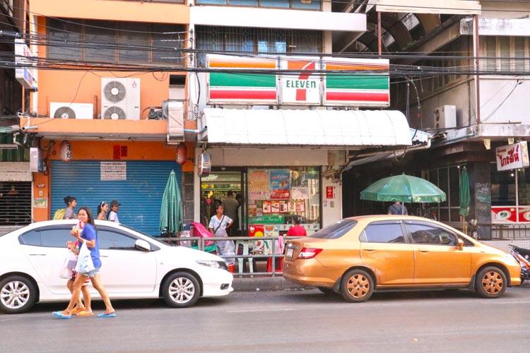 バンコクのセブンイレブン