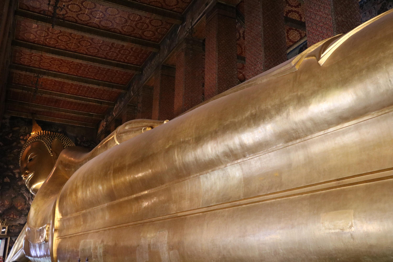 タイ,バンコク,ワット・ポーの寝釈迦仏