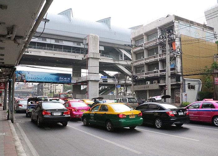 タイ,バンコクのタクシー