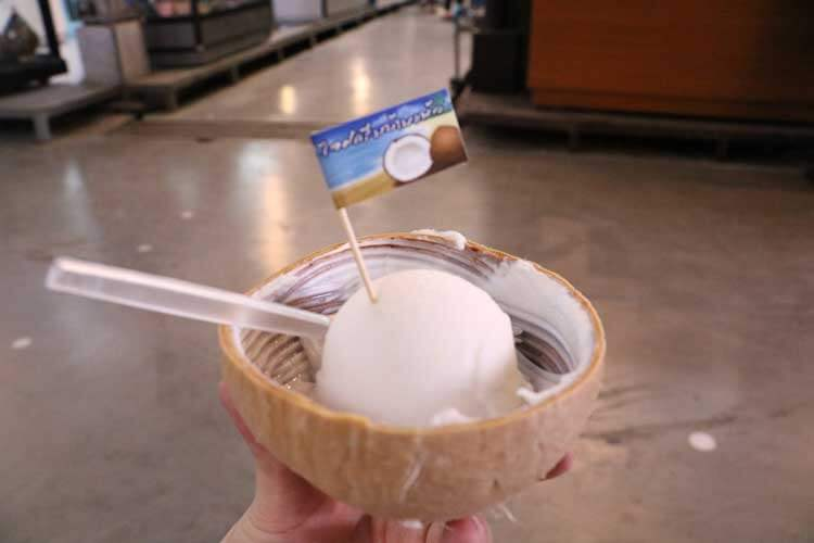 ココナッツアイス