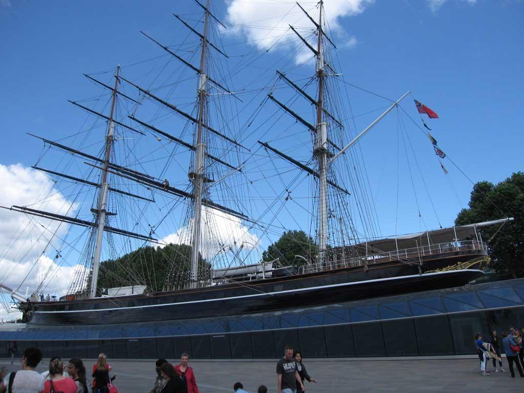 グリニッジにある船